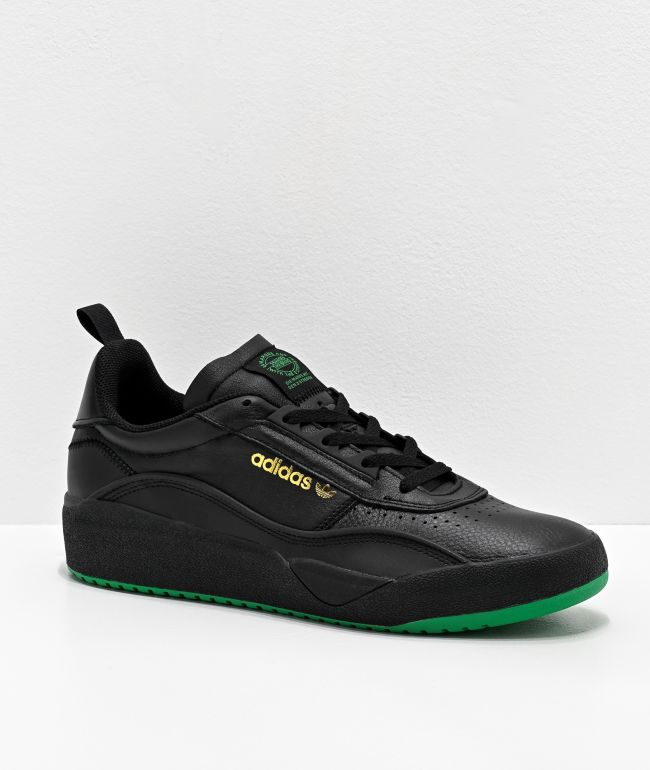 adidas Liberty Cup Black, Green & Gold Shoes
