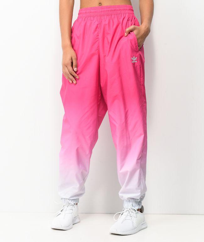 adidas Magenta Gradient Track Pants