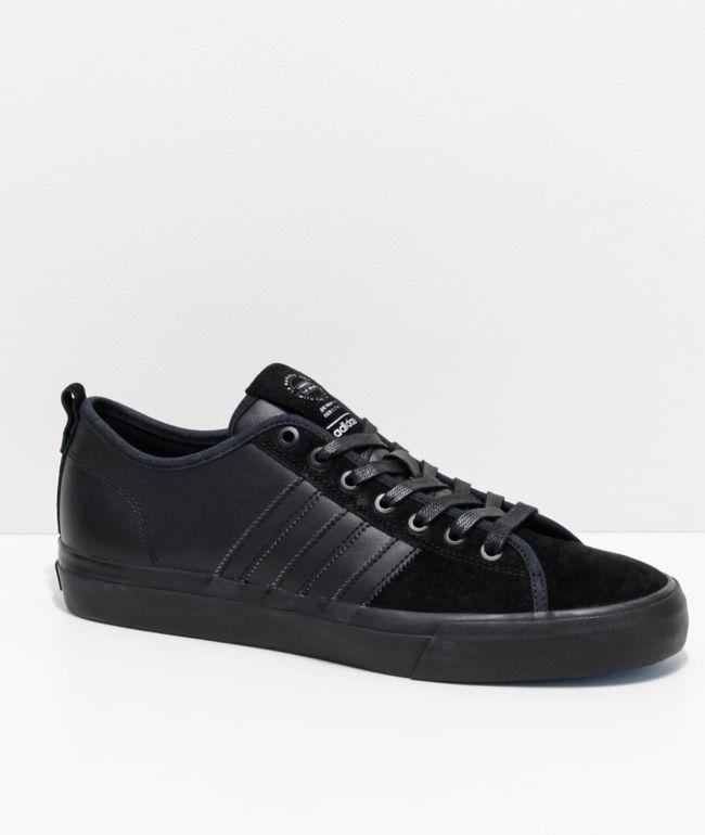 adidas matchcourt rx white & black shoes