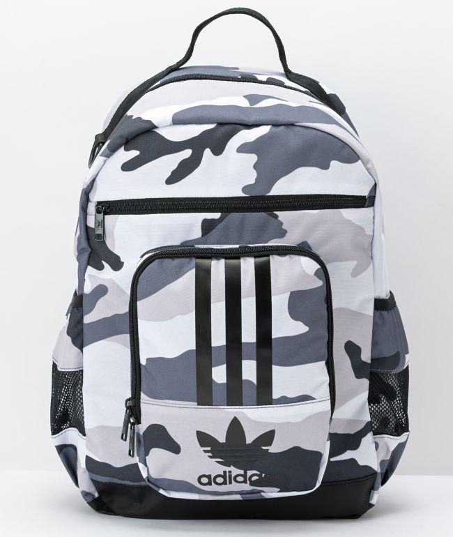 adidas National 2.0 3-Stripe Camo Backpack