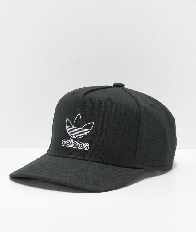 Por separado Chaise longue Jadeo  adidas Originals Dart Pre-Curve gorra negra | Zumiez