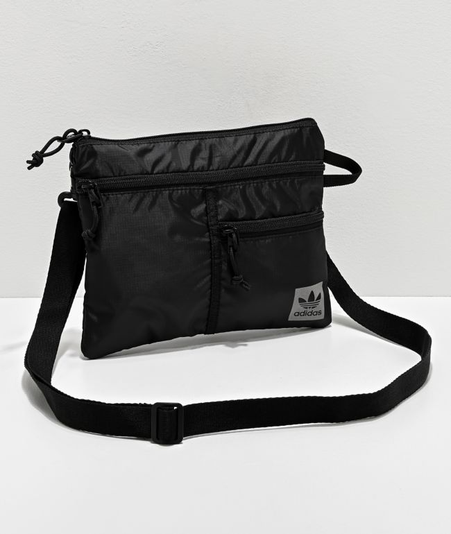 adidas Originals Flat Black Crossbody Bag