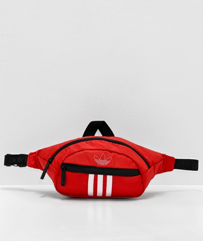 adidas Originals National Red & White Fanny Pack