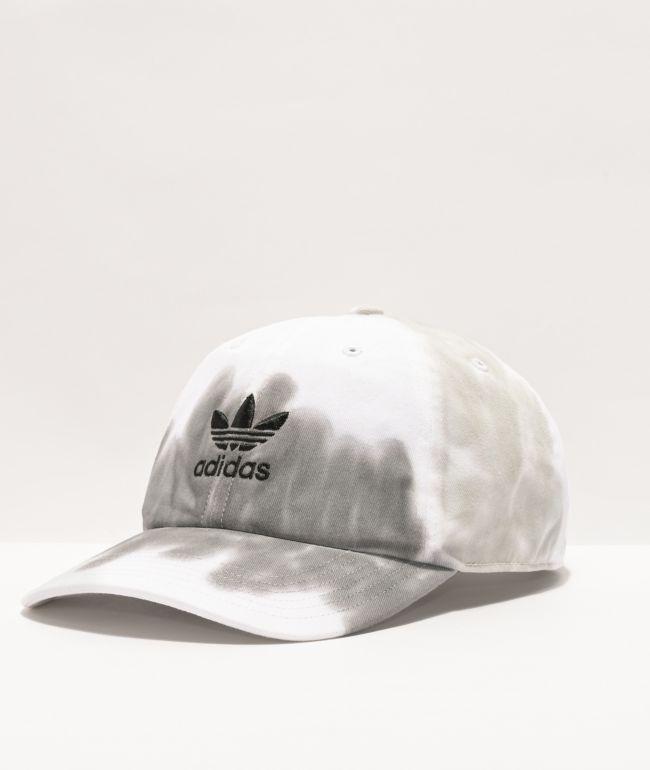 adidas Originals Relaxed Clear & Grey Wash Strapback Hat
