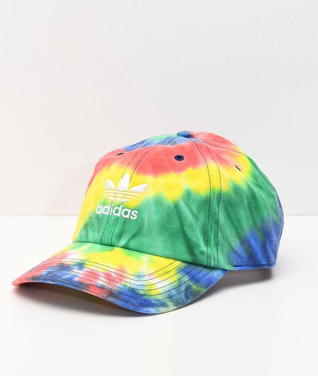 adidas Originals Relaxed Tie Dye Strapback Hat