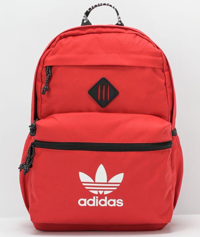 adidas Originals Trefoil 2.0 Red Backpack