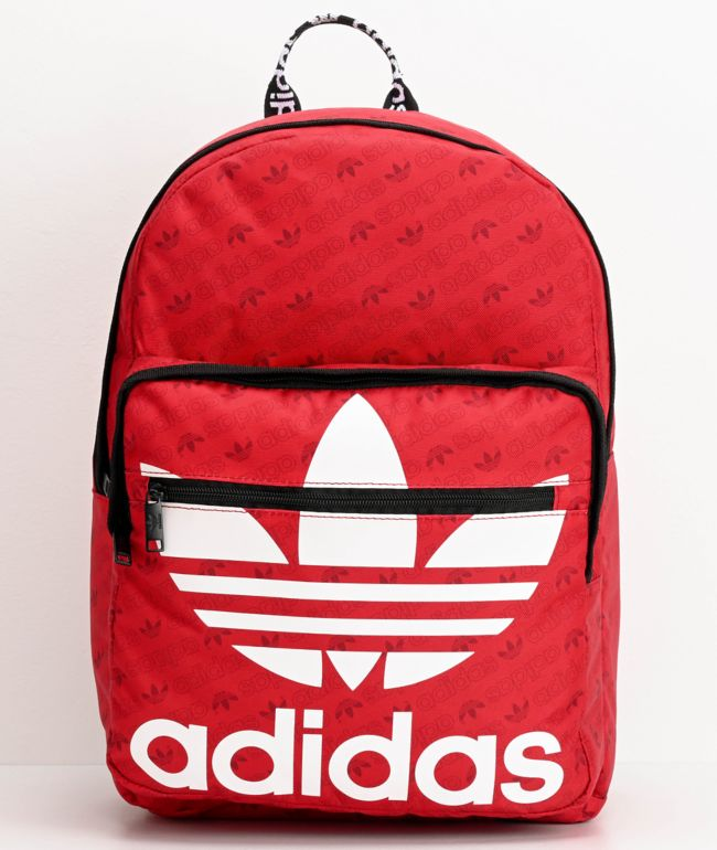 adidas Originals Trefoil Pocket Scarlet Backpack