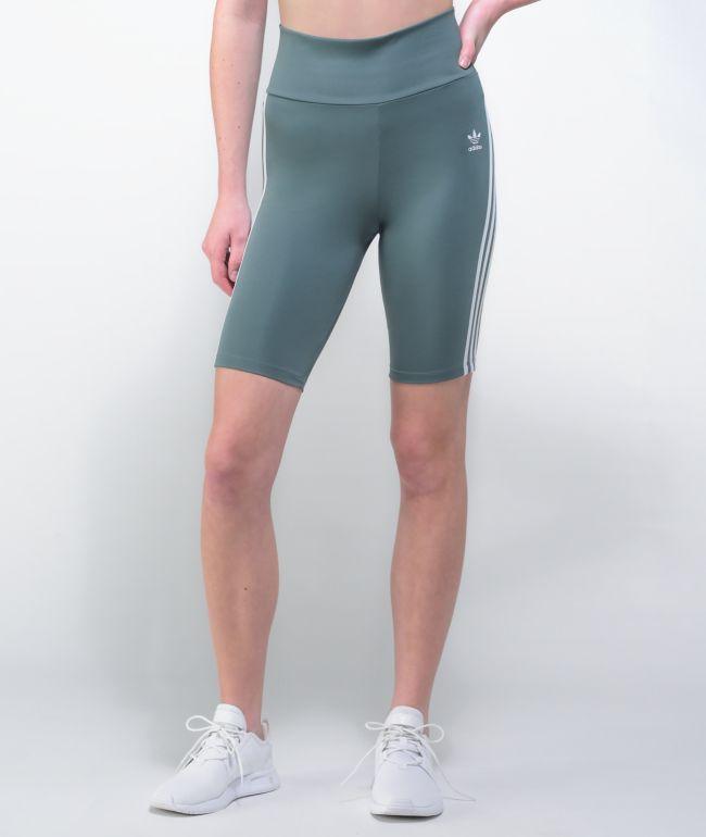 adidas Primeblue High Waisted Bike Shorts