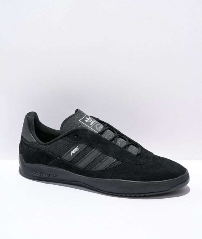 adidas Puig Black & Carbon Shoes