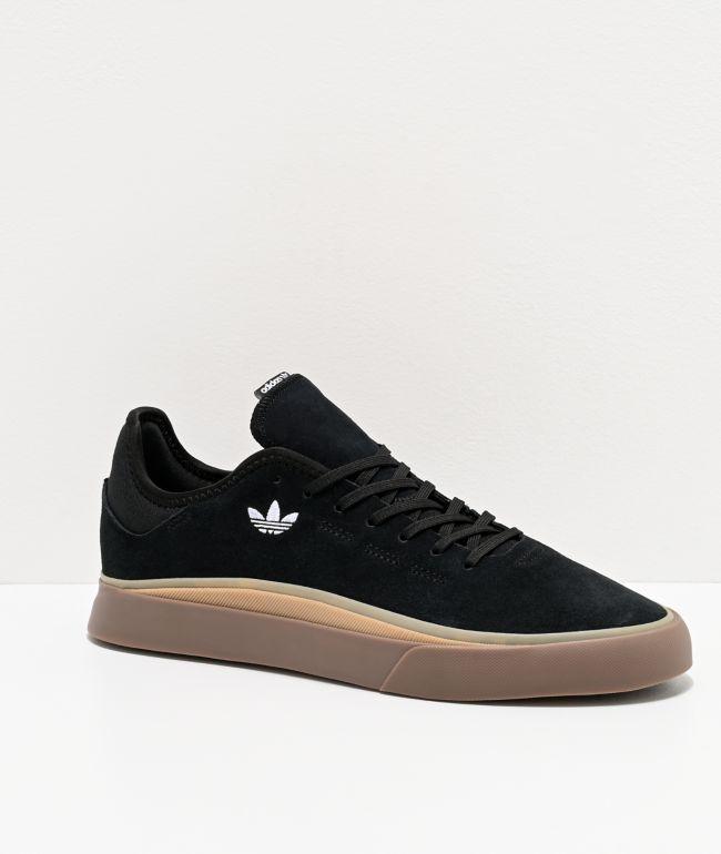 adidas Sabalo Black, White & Gum Shoes