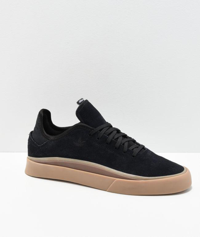 adidas Sabalo Black \u0026 Gum Shoes | Zumiez