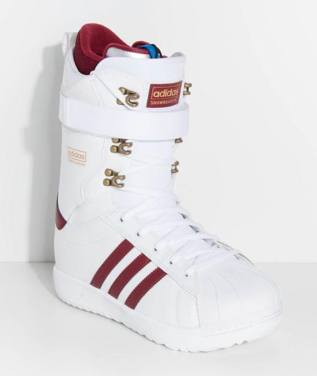 adidas Superstar ADV White Snowboard