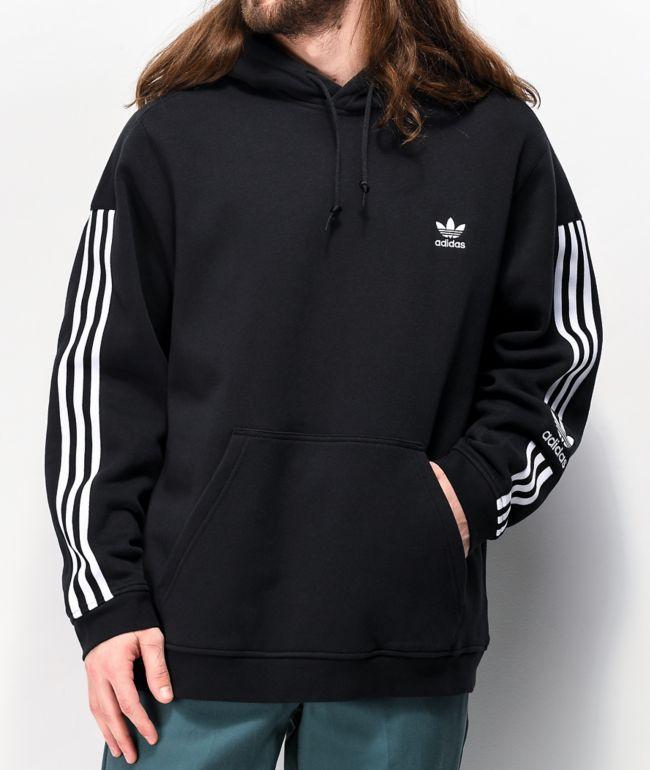 adidas Tech Black & White Hoodie