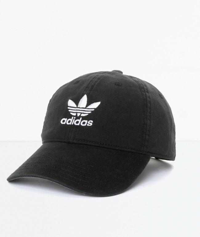 adidas Trefoil gorra béisbol en negro