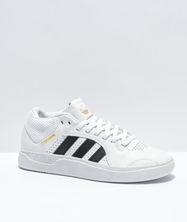 adidas Tyshawn White & Black Shoes