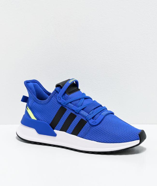 adidas U Path Run J Active Blue Shoes