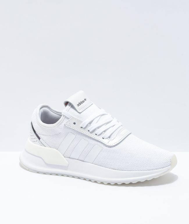 adidas U Path Run White, Purple \u0026 Black