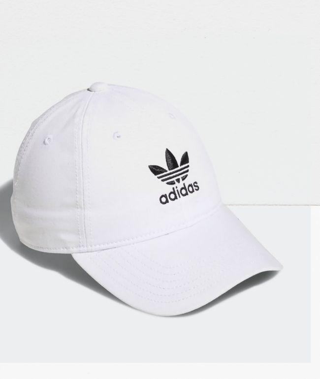adidas Women's Originals White Strapback Hat