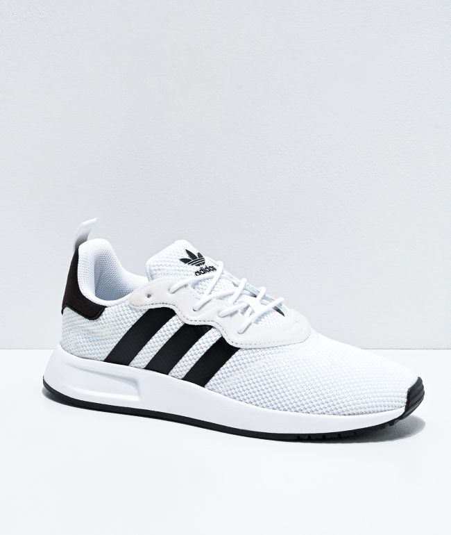 adidas X_PLR S J White & Black Shoes