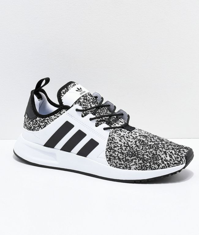 adidas Xplorer Grey, Black \u0026 White