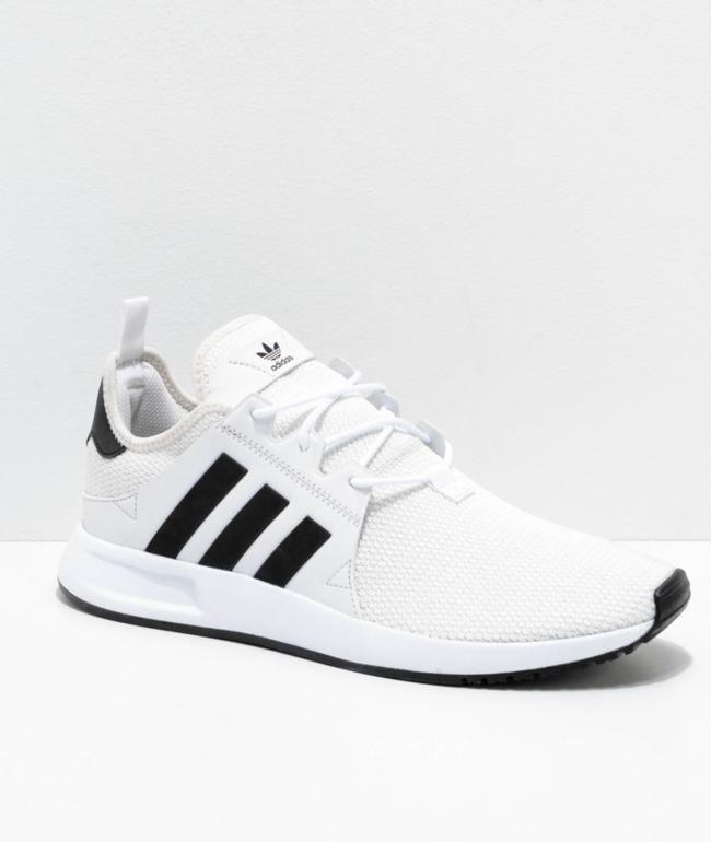 all white adidas xplorer