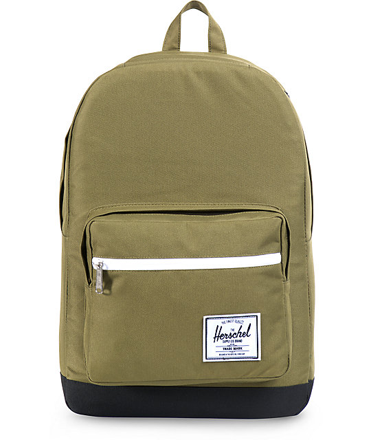 5ebbbcef3657 Herschel Supply Co. Pop Quiz Army Green 20L Backpack