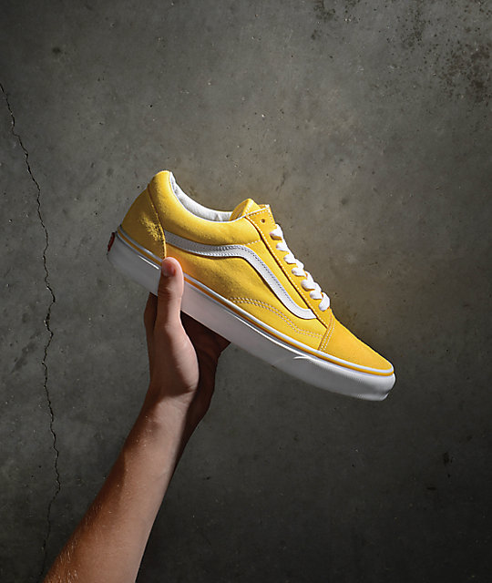 vans old skool amarillo