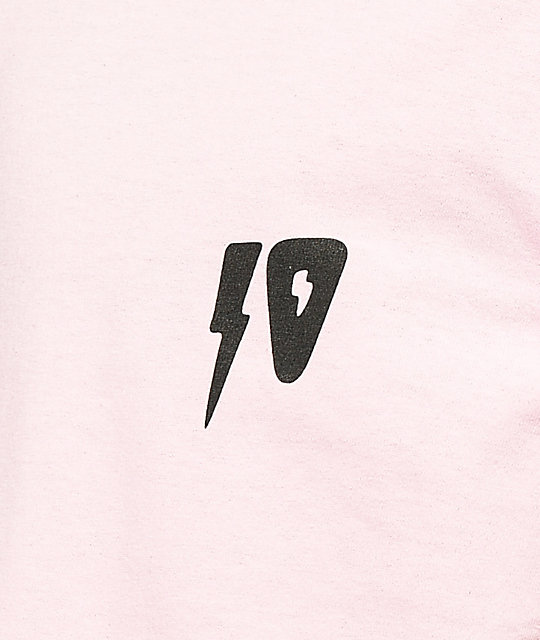 10 Deep 10 Strikes Pink T-Shirt