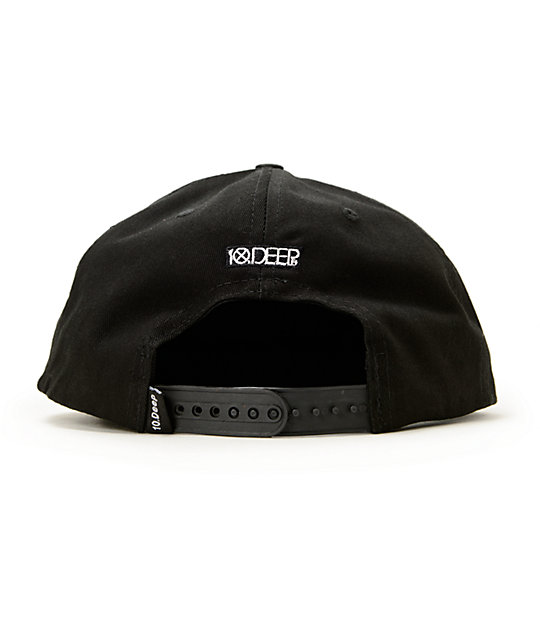 ... 10 Deep Drop Out Reflective Snapback Hat ... 20dce6a9f465