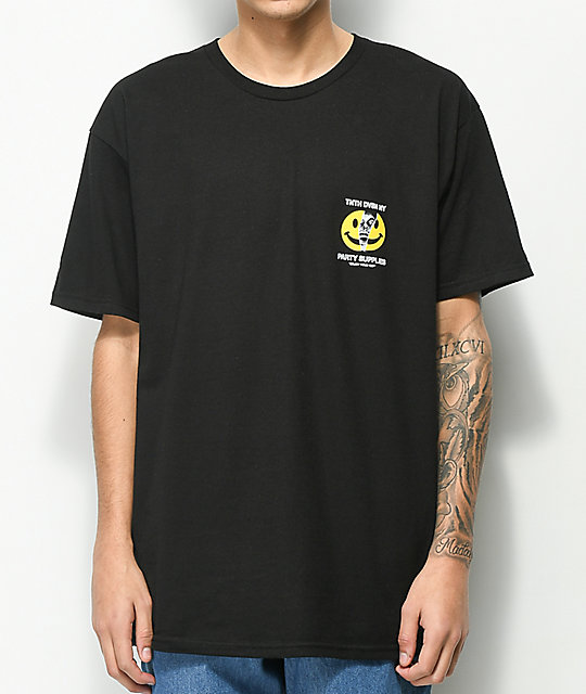 10 Deep Enjoy Your Trip Black T-Shirt