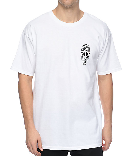 10 Deep God Won't Save Us camiseta blanca