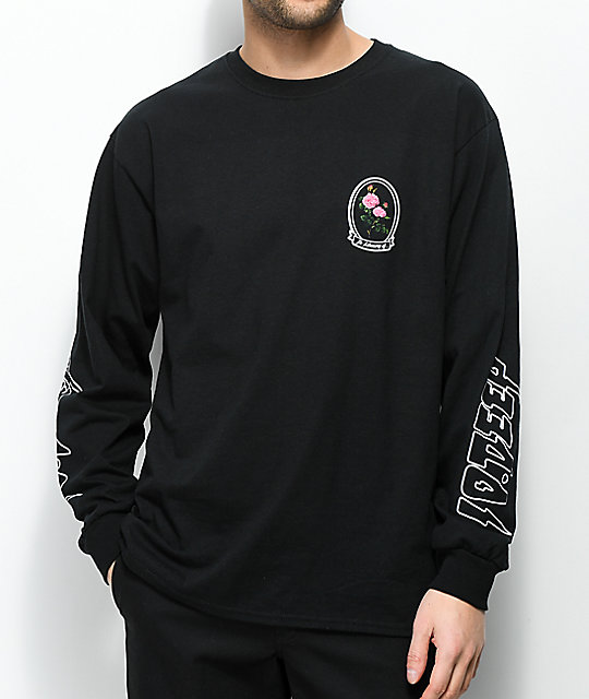 10 Deep In Loving Memory Black Long Sleeve T-Shirt