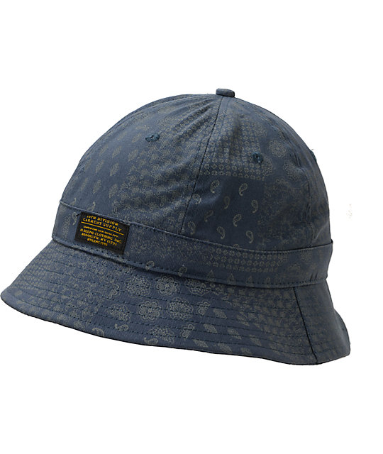 af4ec6c65a8 10 Deep J. Evans Navy Bucket Hat