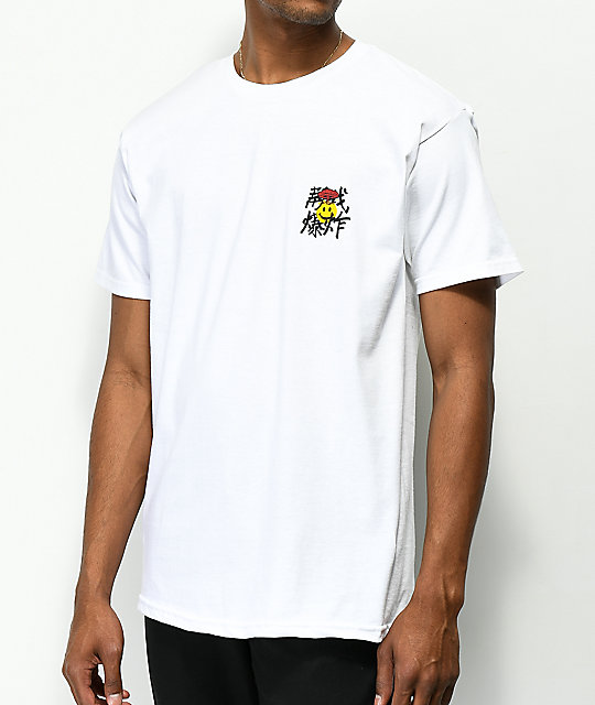 10 Deep Mind Blowed White T-Shirt