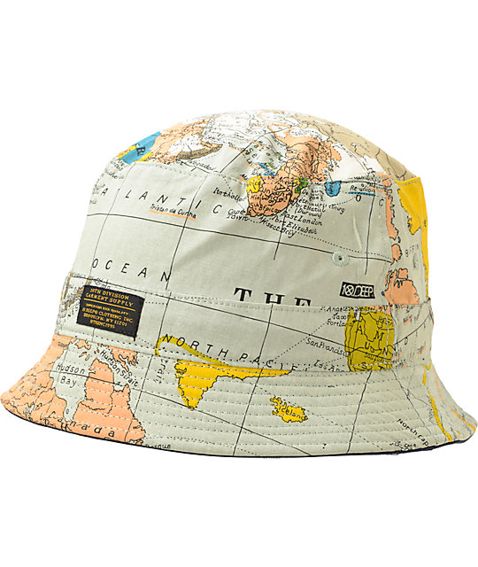 11699ac1878 ... france 10 deep thompson maps bucket hat af907 f87cf