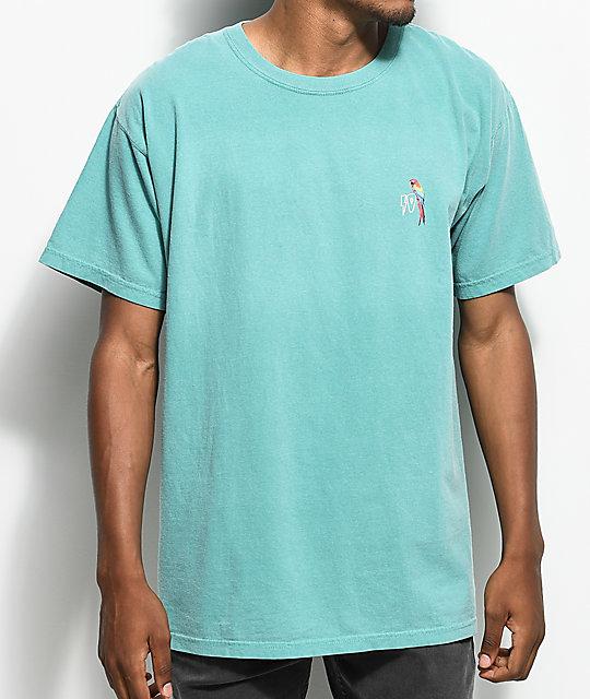 10 Deep Tropical Shock Teal T Shirt Zumiez
