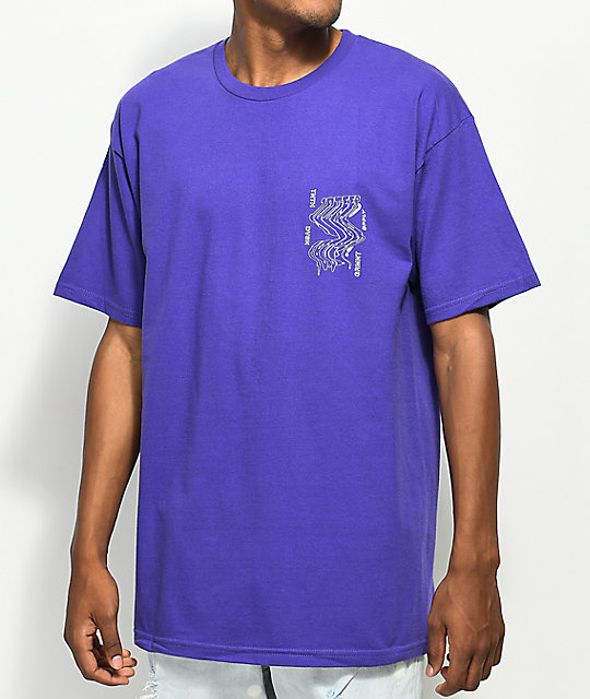 10 Deep Warp Purple T-Shirt