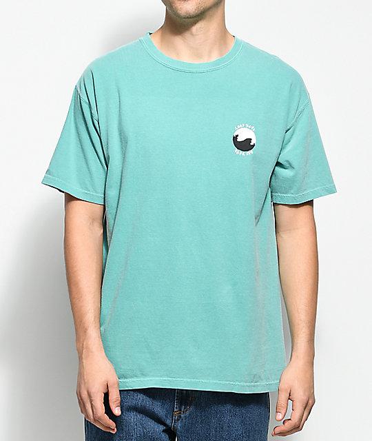 10 Deep Waves Teal T Shirt Zumiez