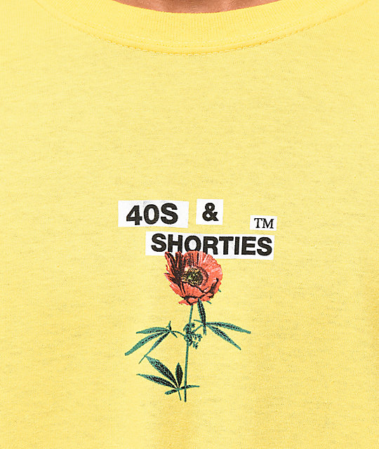 40's & Shorties Agriculture Yellow T-Shirt