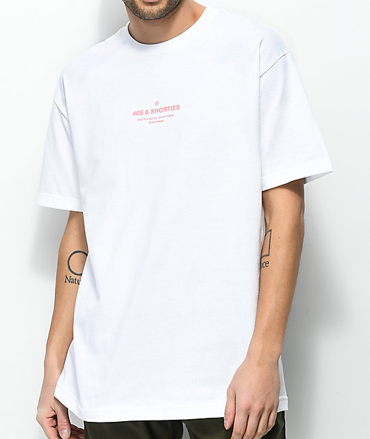 40s & Shorties General White T-Shirt