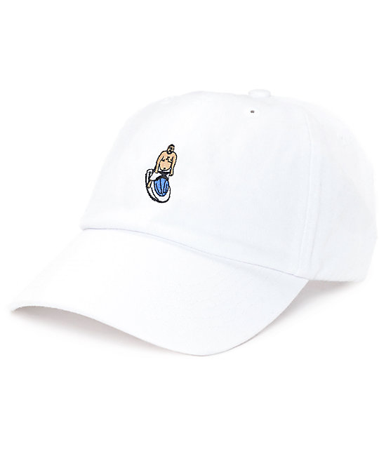 21e106f1 40s & Shorties The Best White Dad Hat | Zumiez