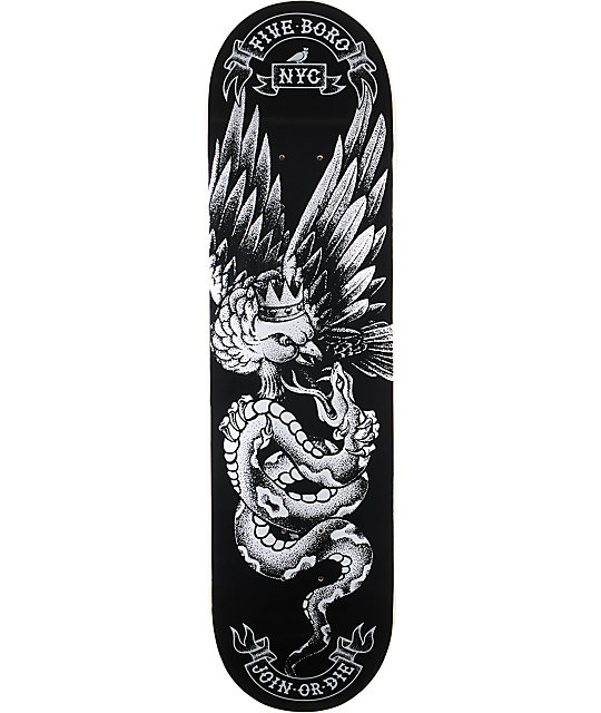 "5Boro No Mercy 8.25""  Skateboard Deck"