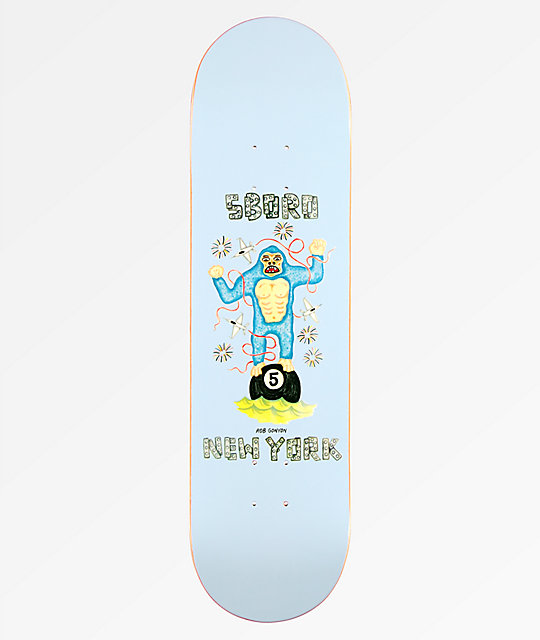 "5Boro x DS Gonyon 8.25"" Skateboard Deck"