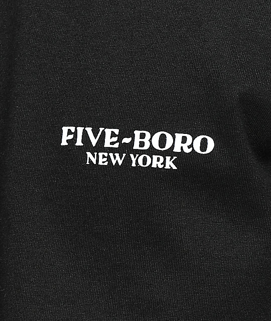 5Boro x DS Lover Fighter Black T-Shirt