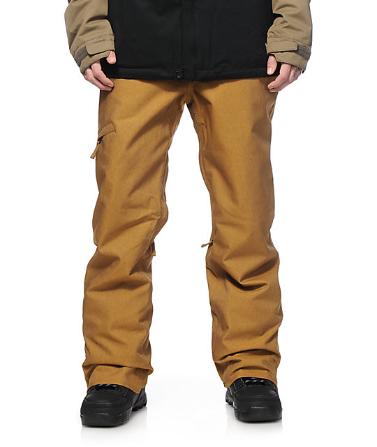 686 Authentic Raw Twill Denim 10K Snowboard Pants