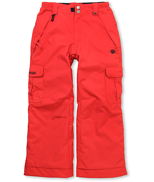 686 Boys Ridge Red 5K Snowboard Pants