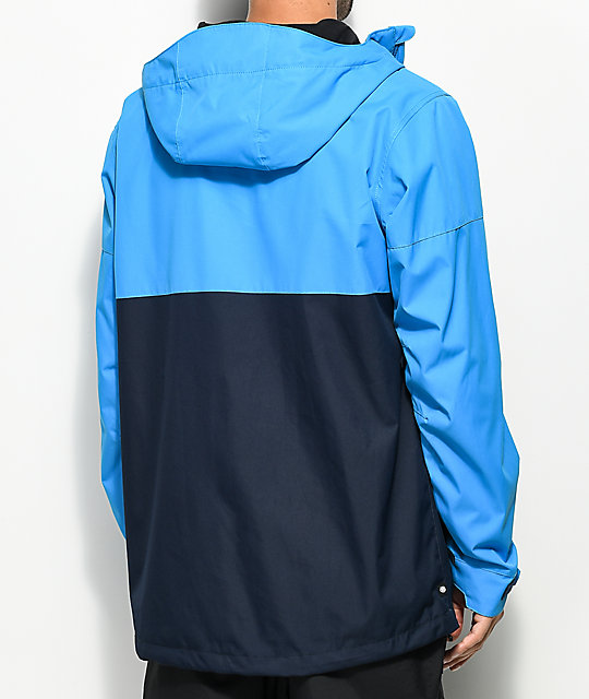 686 Foundation Bluebird Colorblock 5K Snowboard Jacket