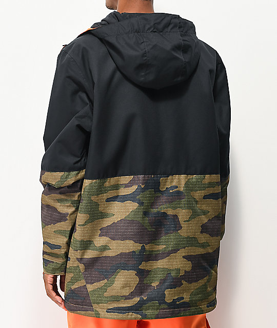 686 Foundation Camo & Black 10K Snowboard Jacket