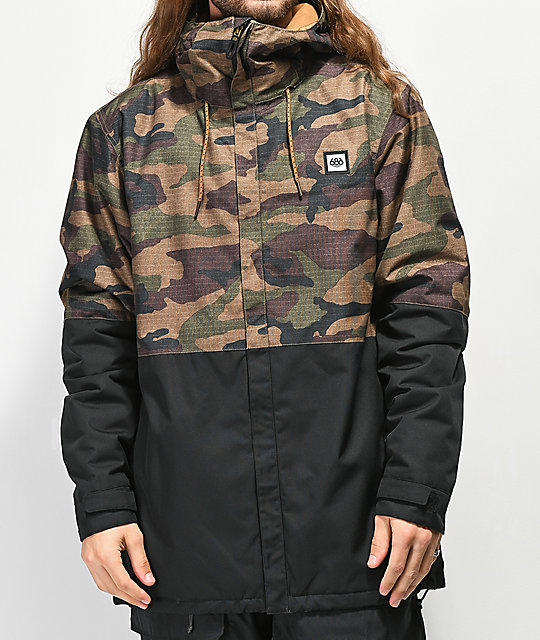 686 Foundations Camo 10K Snowboard Jacket