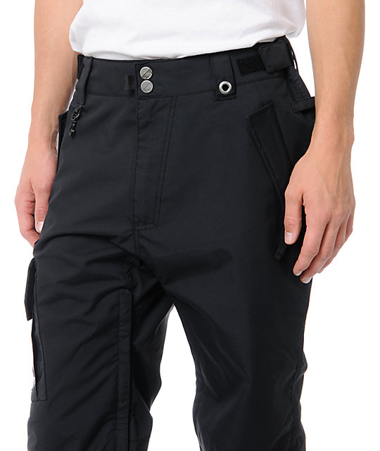 686 Mannual Data Black 8K Snowboard Pants